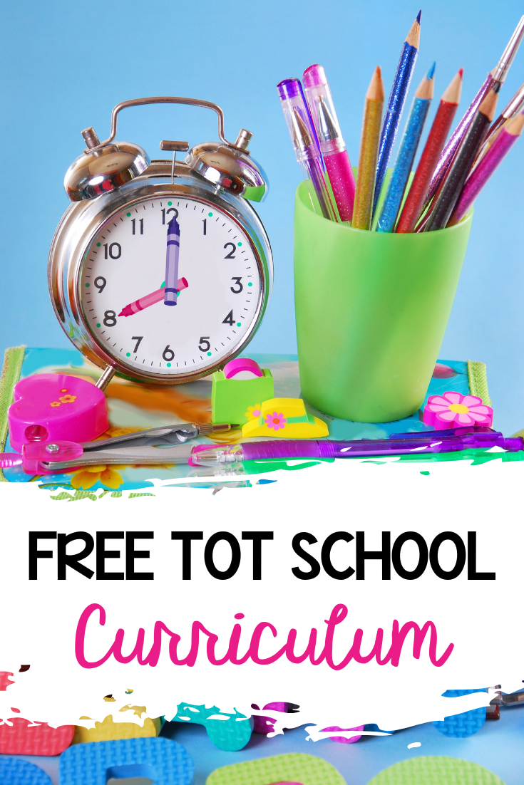 Free Tot School Curriculum