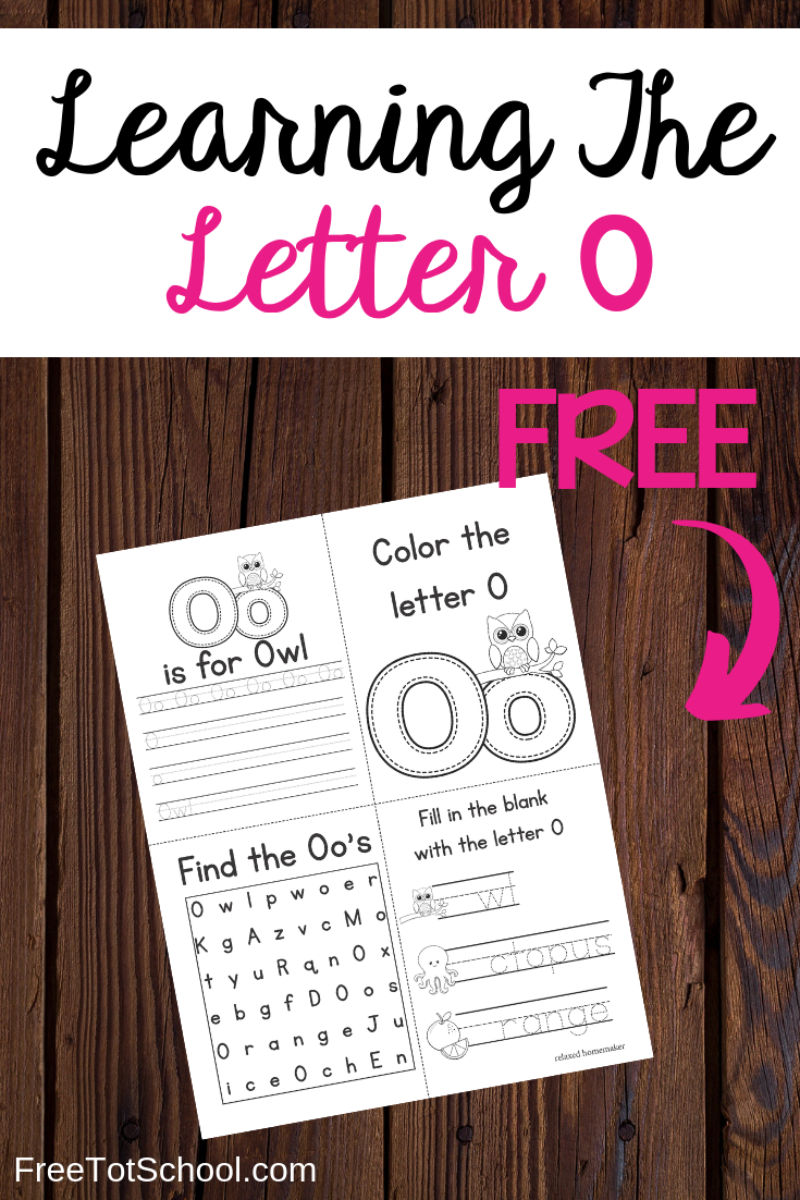 Letter O free worksheets and activities!