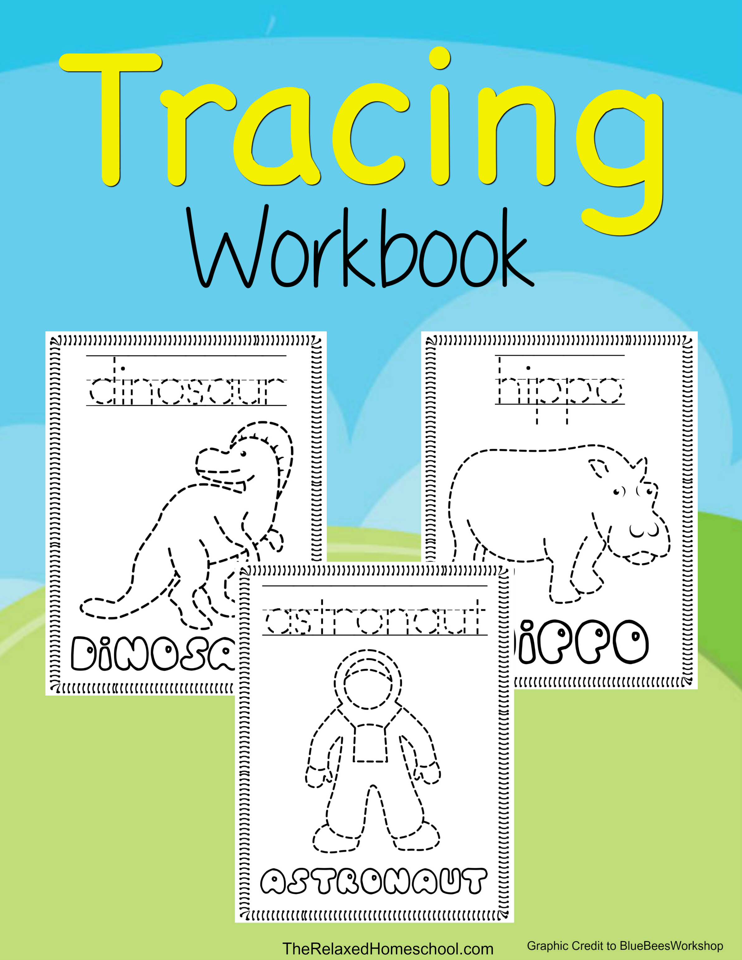Download this FREE ABC Workbook for your children. Kids get to trace, color, and more with this fun workbook!